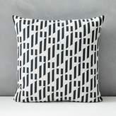 west elm Outdoor Triangle Lattice Pillow