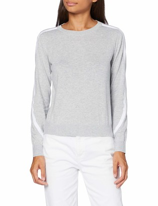 Armani Exchange Women's 100% Cotton Knitted Pullover Sweater