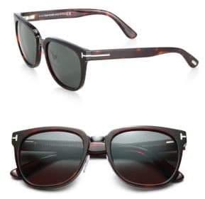 Tom Ford Rock 55MM Square Sunglasses