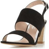Dorothy Perkins Womens *Head Over Heels by Dune Black Mally High Heel Sandals- Black