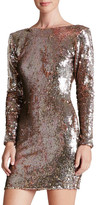 Dress the Population Lola Backless Sequin Minidress