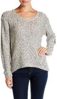 RESEARCH & DESIGN V-Neck Hi-Lo Sweater