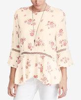 Denim & Supply Ralph Lauren Cotton Floral-Print Blouse