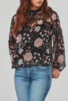 BB Dakota Wildflower Chiffon Top