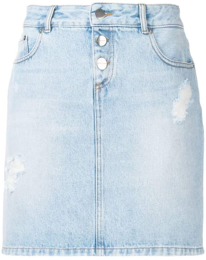 Each X Other denim mini skirt