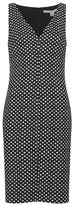 Diane von Furstenberg Women's Minetta Dress Black/Ivory/Black
