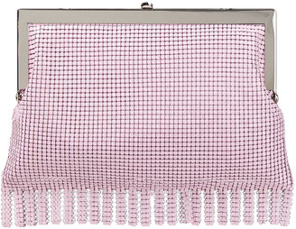 HVN Silver-tone Chainmail Clutch