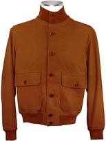 Schiatti & Co. Men's Chocolate Brown Italian Suede Two-Pocket Jacket