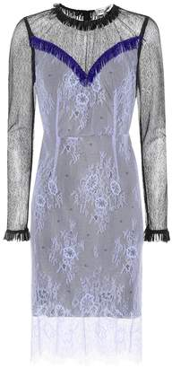 Diane von Furstenberg Embellished lace dress
