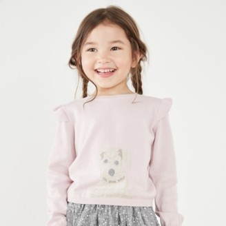 The White Company Puppy Jumper (1-6yrs), Pink, 1-1 1/2yrs