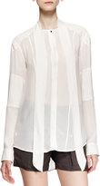 Belstaff Hammond Self-Tie Print Shirt, Sunbleached