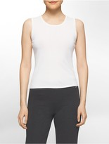 Calvin Klein Sleeveless Solid Shell