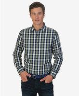 Nautica Big & Tall Cord Plaid Shirt