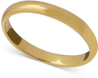 Giani Bernini Polished Band in 18k Gold-Plated Sterling Silver