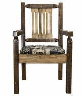 Abella Solid Wood Dining Chair Loon Peak Color: Clear Lacquer Finish