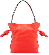 Loewe Flamenco Small Knot Bucket Bag, Red