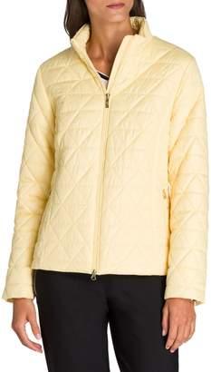 Olsen Quilted Zip Jacket