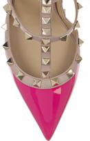 Valentino The Rockstud patent-leather pumps