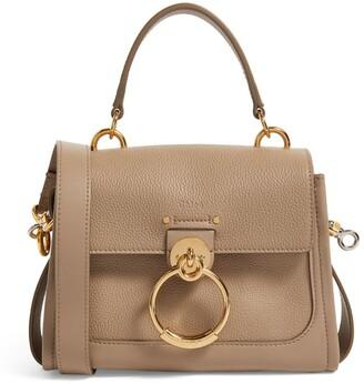 Chloé Mini Leather Tess Top-Handle Bag