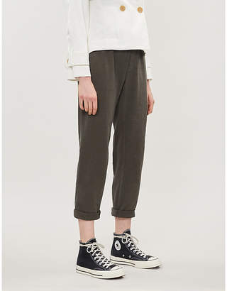 James Perse Relaxed-fit cotton-jersey jogging bottoms