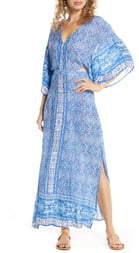 Surf.Gypsy Open Back Cover-Up Maxi Dress