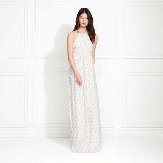 Rachel Zoe Olivia Lilac Printed Halter Maxi Dress