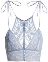Stella McCartney Ophelia Whistling soft-cup lace bra