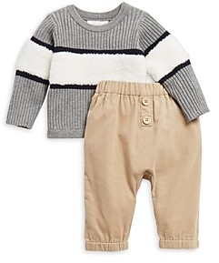 Miniclasix Boys' Sweater & Corduroy Pants Set - Baby