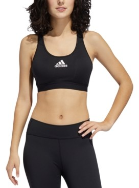 adidas Women's Alphaskin Racerback Medium-Support Sports Bra