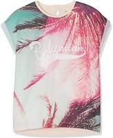 Name It Girl's Nitpalm Ss Top Nmt T-Shirt