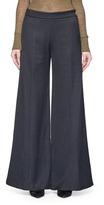 Acne Studios 'Melora' wide leg flare wool blend pants