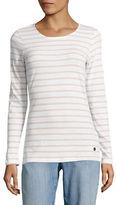 Manguun Breton Stripe Long Sleeve Cotton Top