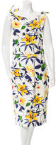 Samantha Sung Floral Midi Dress