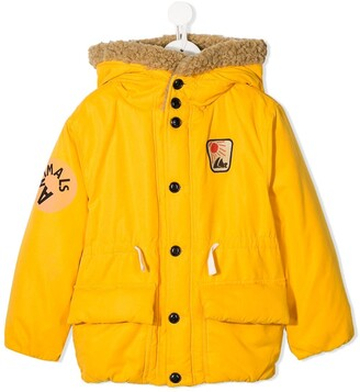 The Animals Observatory Shearling Lined Coat