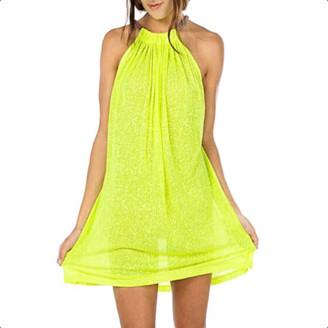 Pitusa Yellow Short Aegean Sundress - O/S - Yellow