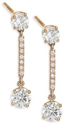 Anita Ko 18K Gold & Diamond Emma Drop Earrings