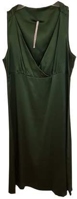 Liviana Conti \N Green Silk Dresses
