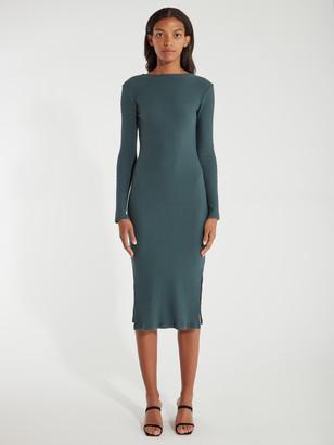Wilma Rib Knit Midi Dress