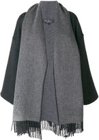 Salvatore Ferragamo maxi scarf coat