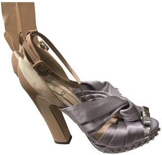 N°21 N21 Beige Leather Sandals