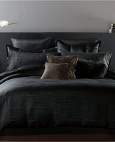 Donna Karan Home Reflection Ebony King Duvet Cover