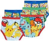 Kohl's Boys 4-8 Pokemon 5-Pack Briefs