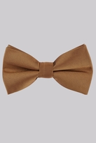 Moss Bros Toffee Bow Tie