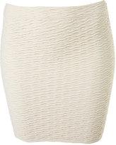 Wavy Bodycon Skirt