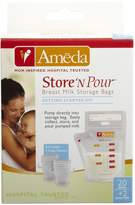 Ameda Store 'N Pour Breast Milk Storage Bags Getting Started Kit