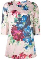 Blumarine floral print T-shirt