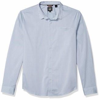 Dockers Slim Collar Long Sleeve Woven Shirt