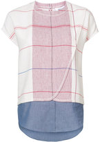 Derek Lam 10 Crosby check T-shirt