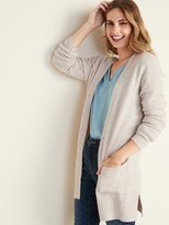 Old Navy Soft-Brushed Open-Front Long-Line Sweater for Women