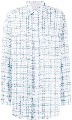 Faith Connexion Tweed Single Breasted Jacket
